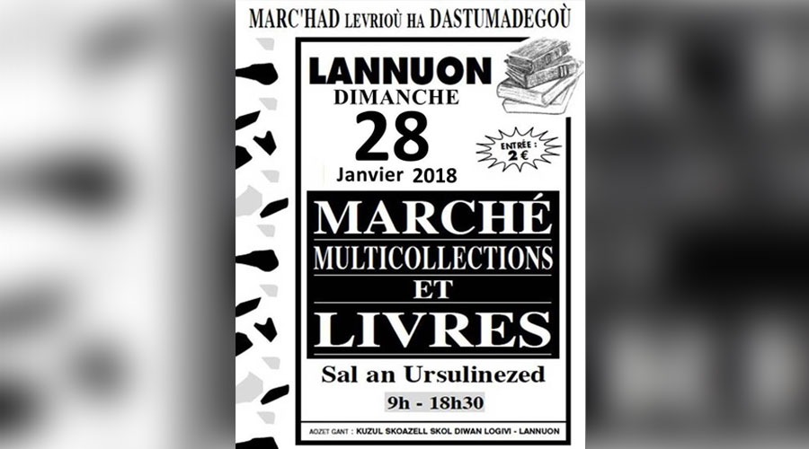hotel lannion perros guirec marche livres collections